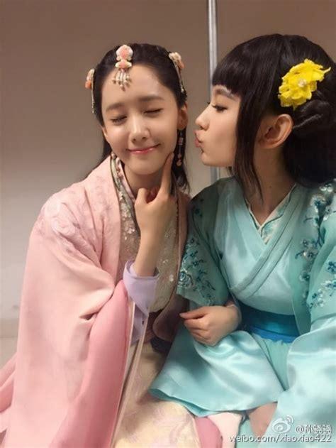 foto yoona di film god of war zhao yun potret keakraban yoona snsd dengan sun xiao xiao merahputih