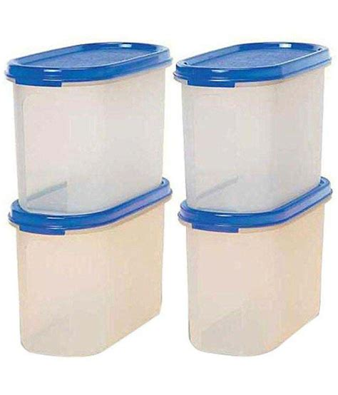 Tupperware Oval tupperware mm oval 1 7 ltr polyproplene dal container set