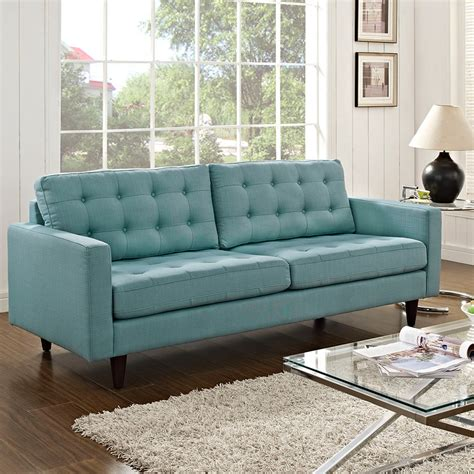 bright blue couch modern sofas enfield light blue sofa eurway modern
