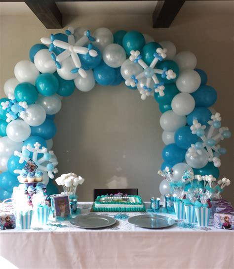 ideas para decorar un salon de frozen resultado de imagen de decoraciones para cumplea 241 os de