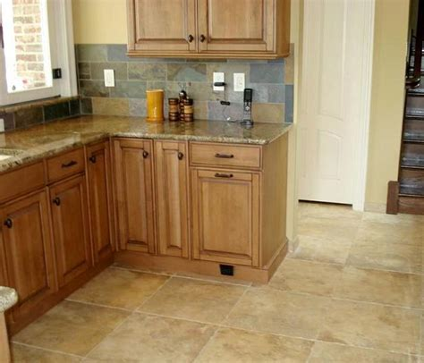 Ceramic Tile Kitchen Floor 6 Types Of Kitchen Floor Tile What Is Your Choice Modern Kitchens