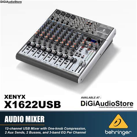Mixer Xenyx X1622usb jual behringer xenyx x1622usb x 1622 usb audio mixer