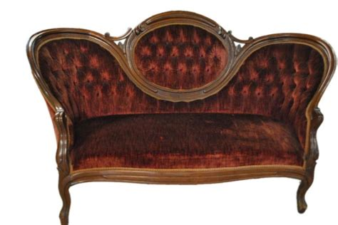 victorian era sofa petite tufted victorian era sofa