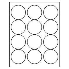 Free Avery 174 Templates Round Label 24 Per 4x6 Sheet 5408 Food Pinterest Etiquetas Avery 22830 Template