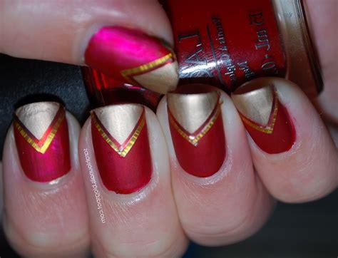 imagenes de uñas rojas con blanco manicura de u 241 as rojas tutorial manicurademoda