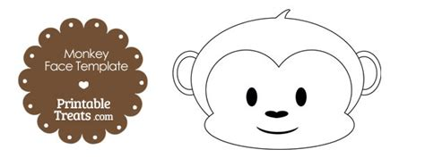Monkey Template For Cake by Printable Monkey Template Printable Treats