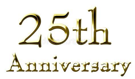 illustration now 25th anniversary 25th anniversary stock illustration illustration of golden 10913129