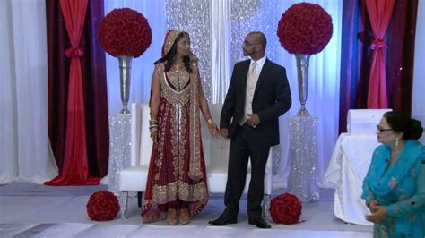 Indian Groom Makes Dramatic Entrance by Groom Entrance An Indian Wedding At Erin Mills