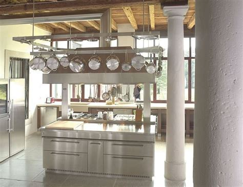 kitchen island stainless steel contemporary stainless steel kitchen with island