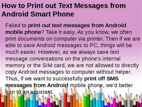 how to print on android how to print out text messages from android smart phone hashdoc