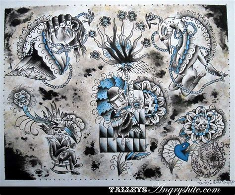 tattoo sheets flash sheets
