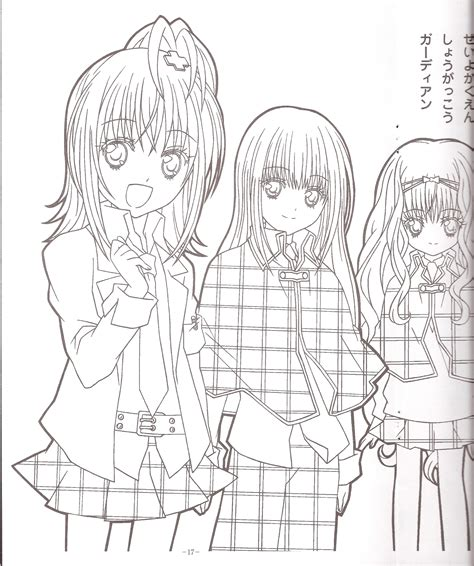 Shugo Chara Coloring Book Pages Coloring Pages Shugo Chara Coloring Pages