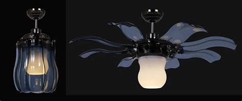 Flower Petal Ceiling Fan by Fiore Fan Blooming Flower Ceiling Fan Homey