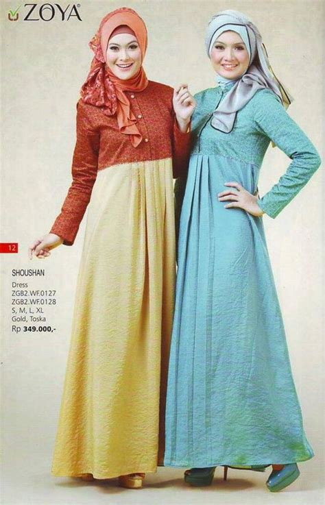 Busana Muslim Zoya Casual koleksi busana muslim zoya dress terfavorit model busana dresses and muslim