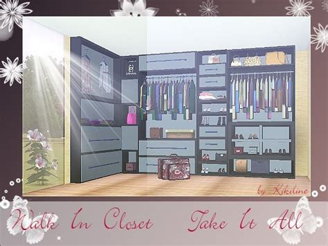 Closet Of Guilt And Pleasure by Mirror Window An Walk In Closet At Sims 3 Community Sims