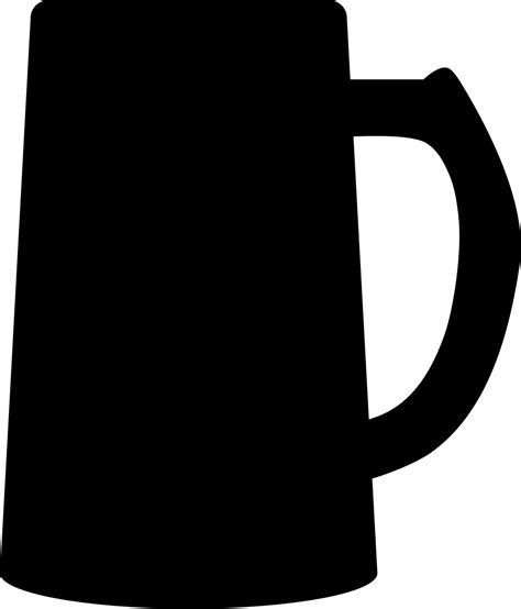 cup silhouette png clipart beer mug silhouette