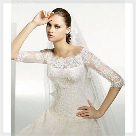 Brautkleider Schlicht by Brautkleider Schlicht Spitze 196 Rmel Erstaunliche