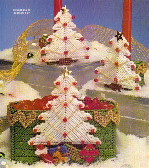 christmas tree plastic canvas pattern holiday holders christmas trees plastic canvas pattern