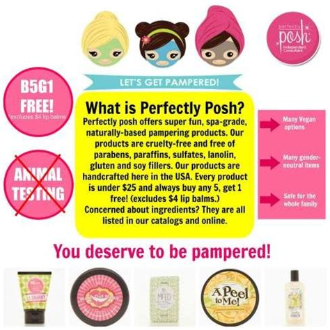 Get Posh by Perfectly Posh Launch Giveaway Perfectly