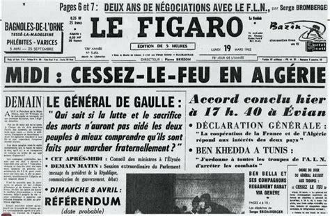 Resume 1 Novembre 1954 by 19 Mars 1962 Cessez Le Feu En Alg 233 Rie Criminocorpus