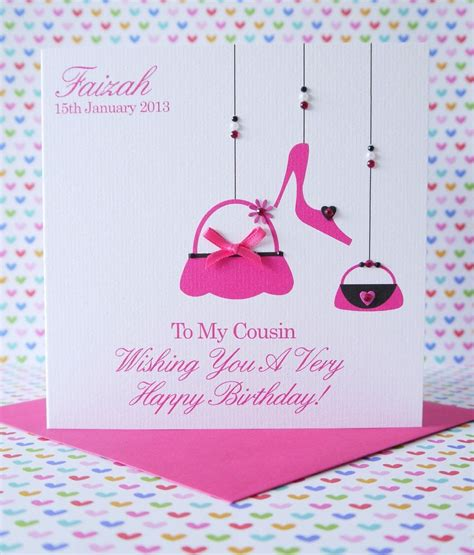 Birthday Cards For From Personalised Handmade Birthday Card Sister Best Friend