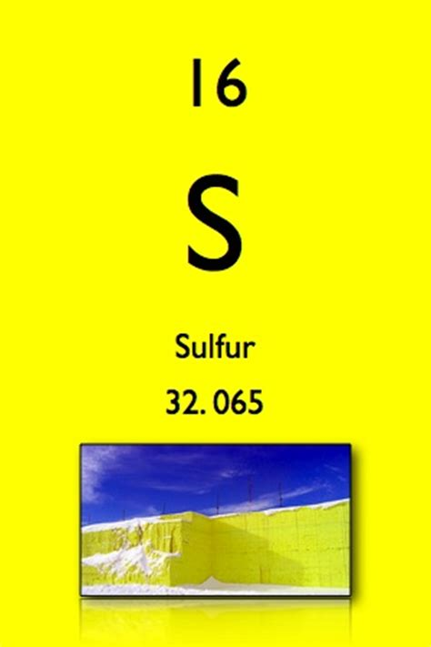 Periodic Table Sulfur by Garlic Escapes Brimstone The Periodic Table And Salsa