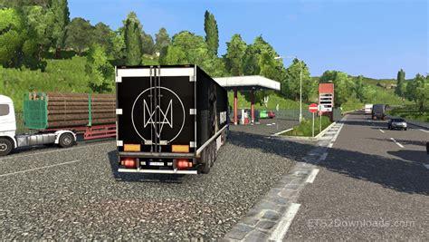 dogs 2 trailer dogs trailer truck simulator 2 mods