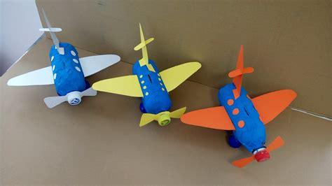 como hacer un avion de material reciclable como puedo hacer un medio de transporte con varios