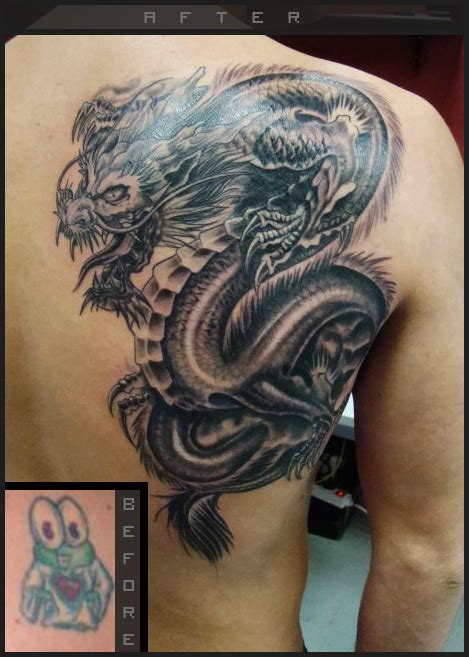 dragon cover up by jrunin on deviantart