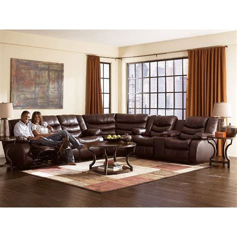 Mcdonalds Furniture Lynnwood by Revolution Burgundy Reclining Sectional Living Room Set Sectionals At Furniturepick