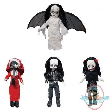 Mezco Living Dead Doll Resurrection Ii Lillith 1 sdcc living dead dolls resurrection series 7 set of 4 by mezco of figures