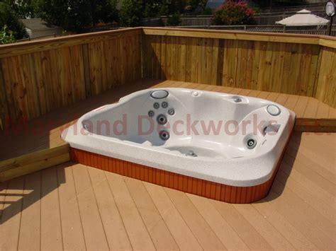 deck with hot tub joy studio design gallery best design