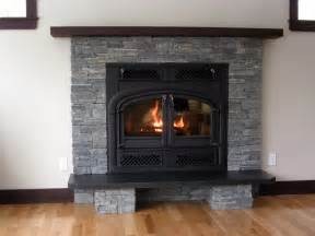 Fireplace With Stone Fireplace Stone Using Real Thin Stone Veneer