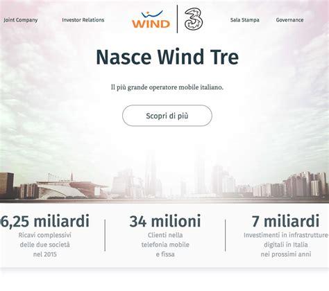 tre telefonia mobile wind tre 232 ora attivo il primo operatore di telefonia