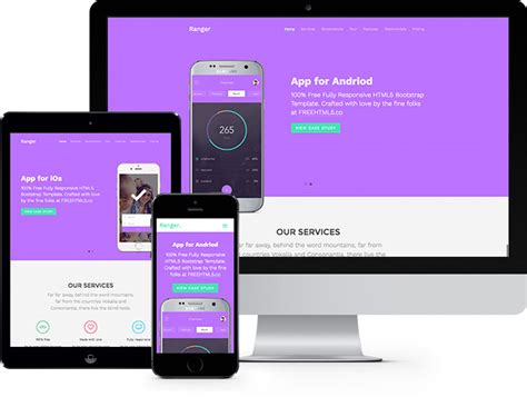 ranger free website template using bootstrap freehtml5 co