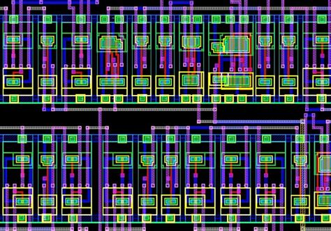 what is layout design of integrated circuit layout of an integrated circuit science as