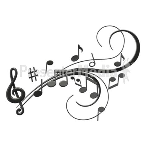 Beatles Wall Stickers music notes swoosh signs and symbols great clipart for
