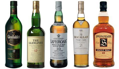 best scottish whisky types of scotch whiskey