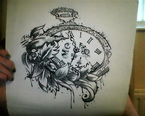 traditional pocket watch tattoo pocketwatch por avvelanare on deviantart arte