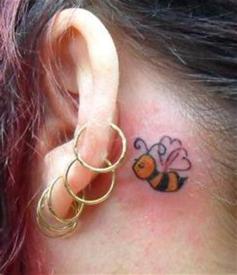 tattoo removal behind ear the ear tattoos makems 187 small ear