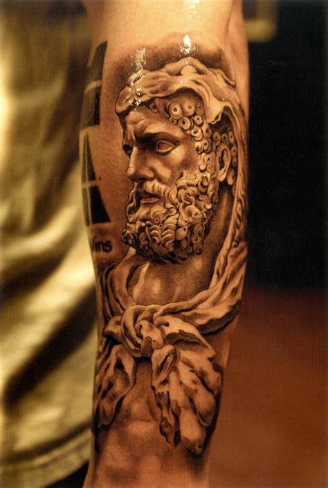 greek statue tattoo statue ink statues