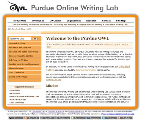 purdue owl research paper writing lab research papers welcome to the purdue