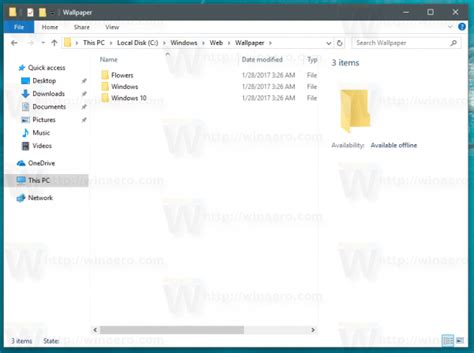 where are themes pictures stored in windows 10 where are windows 10 default wallpapers stored