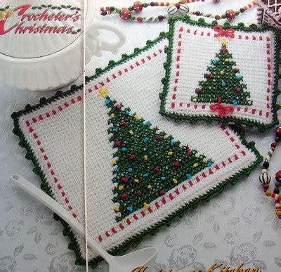 crochet christmas tree potholder pattern pin by renee copp on crochet pinterest