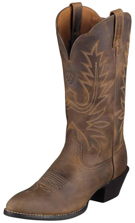 ariat s heritage western r toe cowboy boots