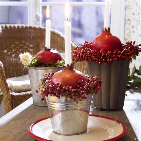 fall table decorating ideas 11 candles centerpieces with rowan berries and rose hips