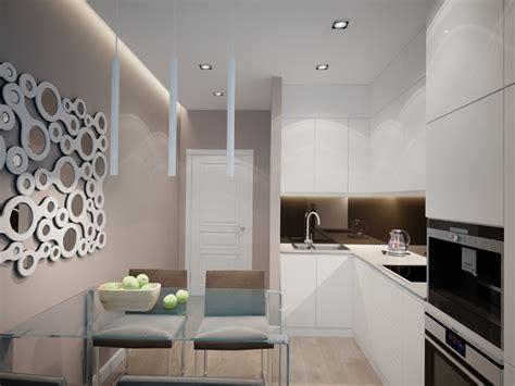 arredare parete cucina cucine bianche abbinamento perfetto con lo stile moderno