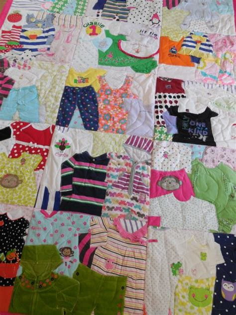 Quilt Clothing by 25 Best Ideas About Baby Memory Quilt On Baby