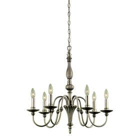 portfolio 6 light chandelier portfolio 6 light antique silver traditional chandelier
