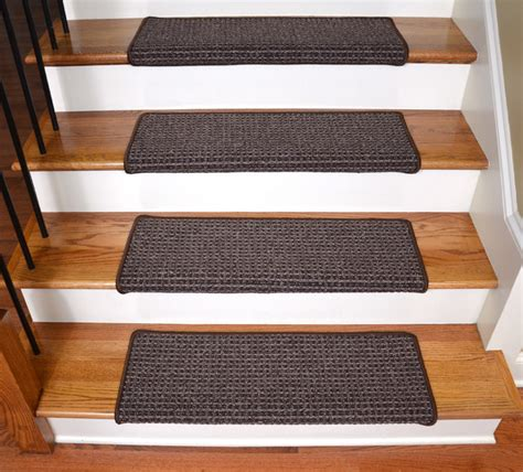 modern stair tread rugs modern stair tread rugs dean non slip pet friendly